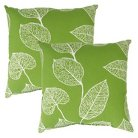 2-Piece Square Outdoor Toss Pillow Set - Tropical Flowers - Threshold™