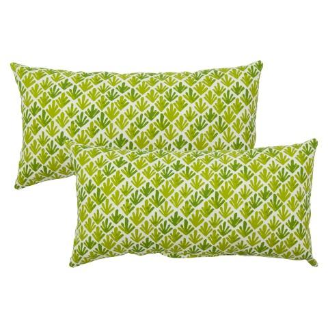Threshold™ 2-Piece Outdoor Lumbar Pillow Set