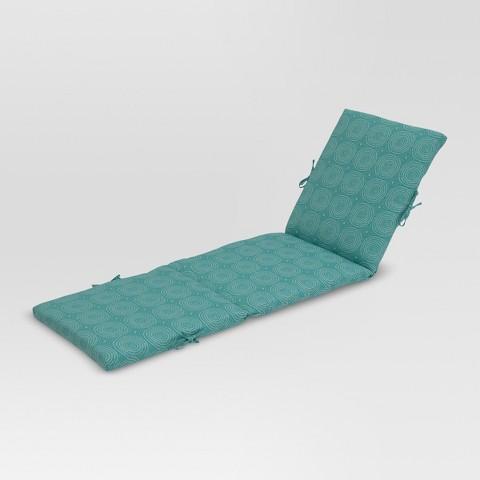 Threshold™ Outdoor Chaise Lounge Cushion Tar
