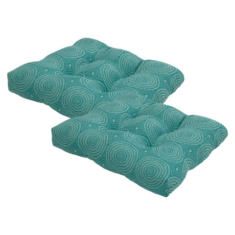 Threshold™ 2-Piece Outdoor Tufted Seat Cushion Set