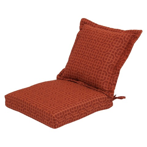 Threshold™ Outdoor Pillow Back Dining Cushion