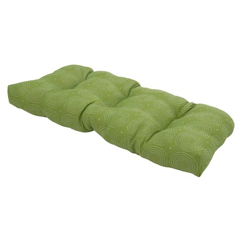 Threshold™ Outdoor Tufted Settee Cushion