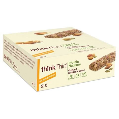thinkThin® Crunch Original Mixed Nuts Protein Bars - 10 Count