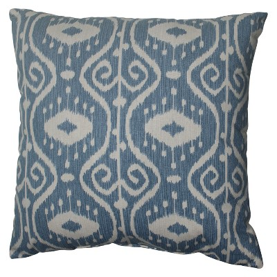 "Empire Toss Pillow - Blue (18x18"")"