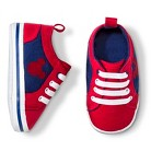 Disney® Newborn Boys' Mickey Mouse Sneakers - Red