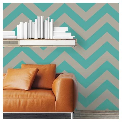 devine color zig zag peel stick wallpaper po target