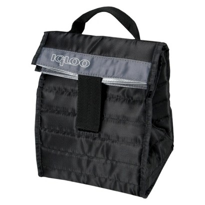 Igloo Stowe Lunch Sack - Black