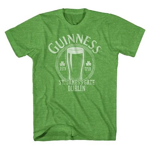 Men's Guinness St. Patrick's Day T-Shirt Green