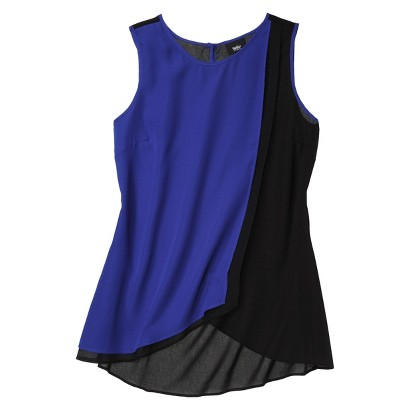 Mossimo® Womens Colorblock High Low Tank - Assorted Colors