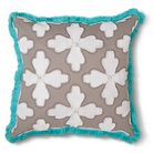 Xhilaration™ Floral Cord Applique Decorative Pillow