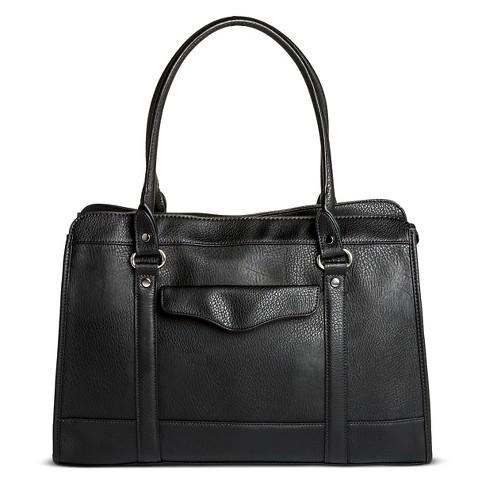 Merona® Solid Tote Handbag - Black