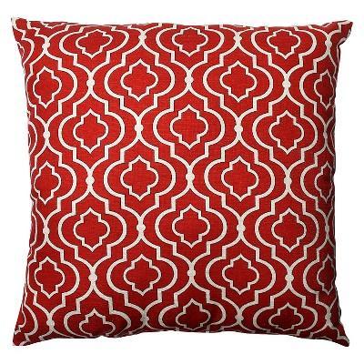 """Donetta Oversized Toss Pillow - Red (23x23"""")"""