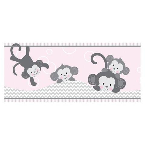 Pinkie Wallpaper Border