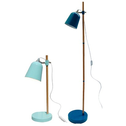 Room Essentials™ Wood Pole Scholar Lighting Collection