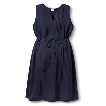 Maternity Sleeveless Pleated Dress-Merona®