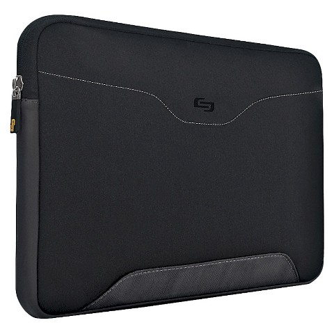 "Solo Active- CQR Sleeve - Black  (17.3"" )"