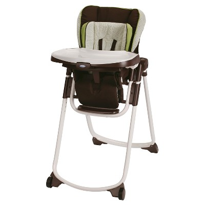Graco Slim Spaces High Chair - Go Green