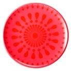 Summer Melamine Salad Plate Set of 8 - Red