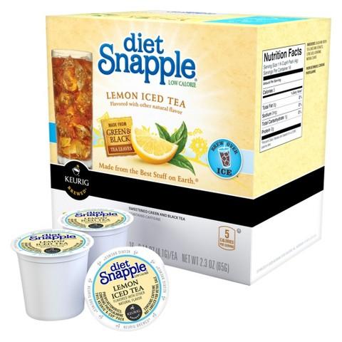Keurig® Diet Snapple® Low Calorie Lemon Iced Tea K-Cups 16 ct