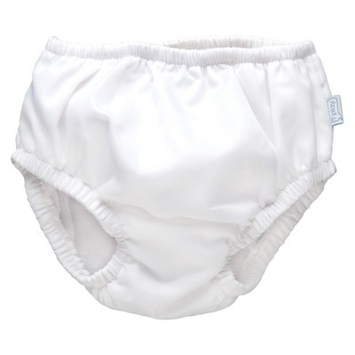 i play.® Baby Reusable Swim Diaper - White