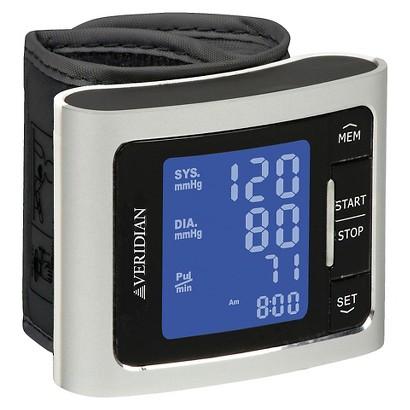 Veridian Healthcare Blood Pressure Wrist Monitor