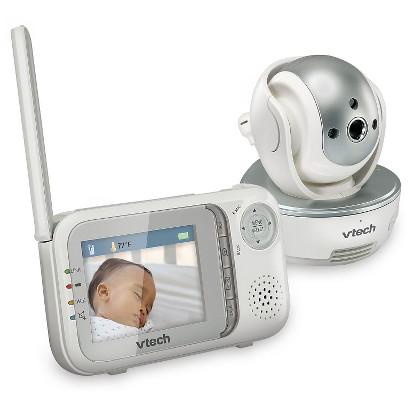 VTech Safe & Sound Pan and Tilt Full Color Video Monitor - VM333