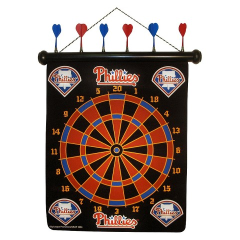 Philadelphia Phillies Rico Magnetic Dart Board