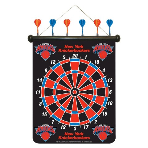 Rico NBA New York Knicks Magnetic Dart Board Set