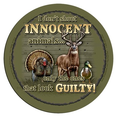 Rico Industries 4 Piece Innocent Animals Coaster Set