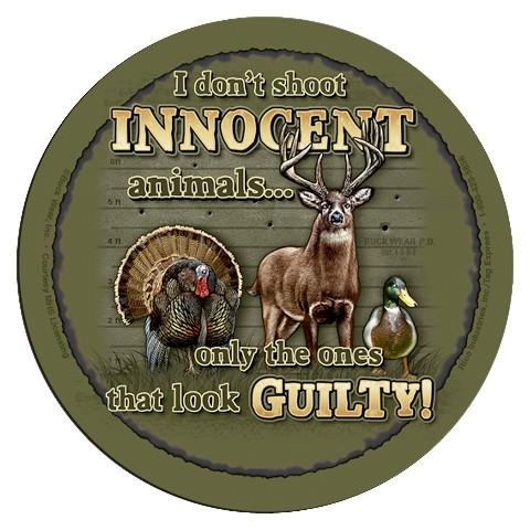 Rico Industries 4 Piece Innocent Animals Coaster Set