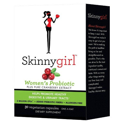 Skinnygirl™ Women's Probiotic Cranberry Extract Capsules - 30 Count