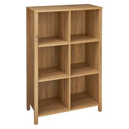 ClosetMaid Premium 6-Cube Organizer - Weathered Oak