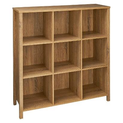 ClosetMaid Premium 9-Cube Organizer - Weathered Oak