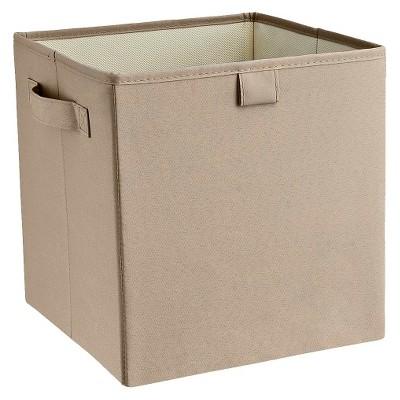 ClosetMaid Decorative Fabric Cube Storage Bin - Graystone