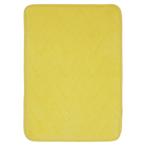 Model  Description Page  Sabrina Soto Lucy Geo Bath Rug  Yellow 30quotx24