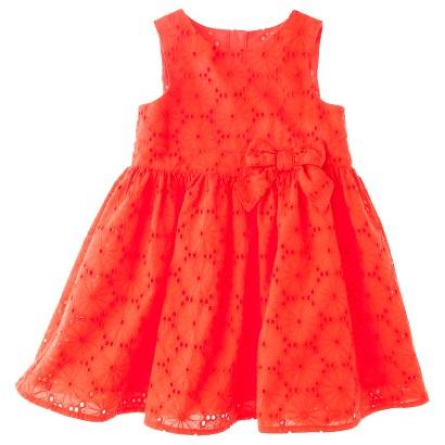 Genuine Kids from OshKosh™ Infant Toddler Girls' Sleeveless Floral Eyelet Dress