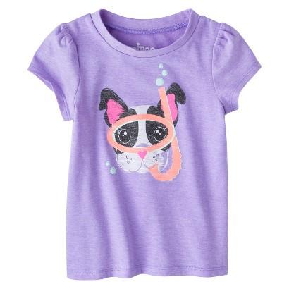 Circo® Infant Toddler Girls' Short Sleeve Graphic Tee