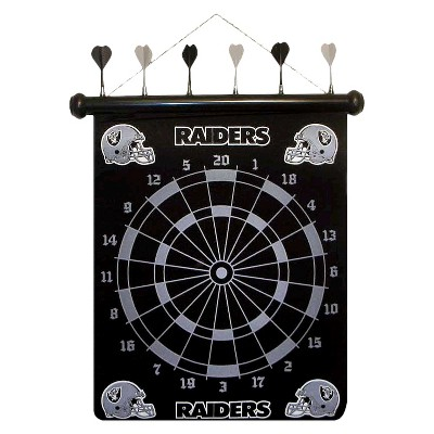 Oakland Raiders Rico Magnetic Dart Board Set