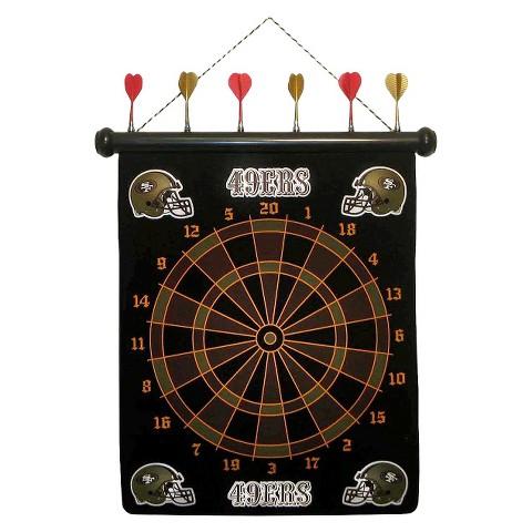 San Francisco 49ers Rico Magnetic Dart Board Set