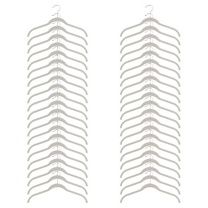 Joy Mangano Huggable Hangers® 40-Pc. Shirt Hangers - Assorted Colors