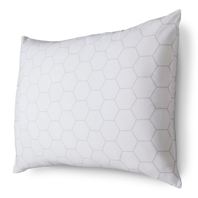 Room Essentials™ Won't Go Flat Firm Pillow - White (Standard/Queen)