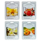 Wax Free Fragrance Disks 4 pack Assortment Set - Fruit Scents