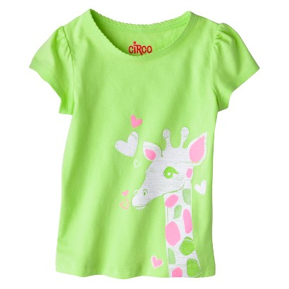 Circo® Infant Toddler Girls' Short Sleeve Graphic Tee