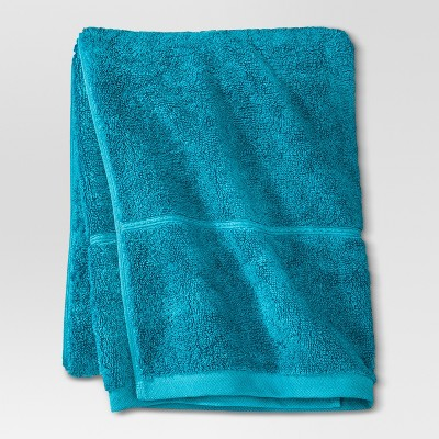 Threshold™ Botanic Fiber Bath Towel - Monte Carlo Turquoise