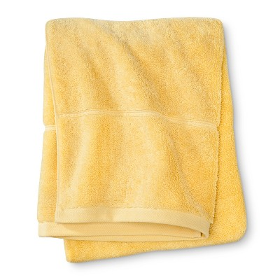 Threshold™ Botanic Fiber Bath Towel - Beehive Yellow