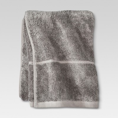 Threshold™ Botanic Fiber Bath Towel - Cloak Gray