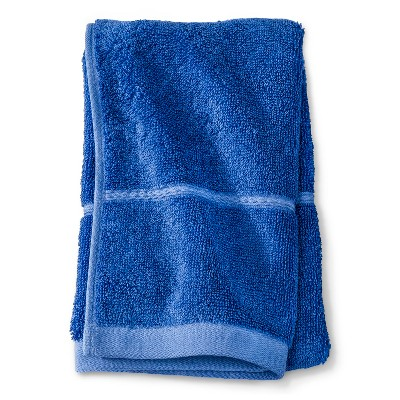 Threshold™ Botanic Fiber Hand Towel - Blue Dolphin