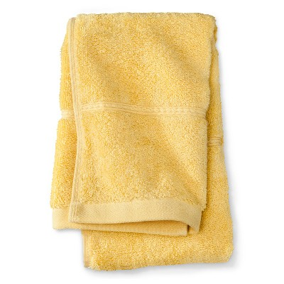 Threshold™ Botanic Fiber Hand Towel - Beehive Yellow