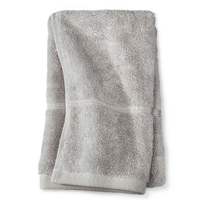 Threshold™ Botanic Fiber Hand Towel - Silver Foil