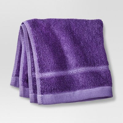 Threshold™ Botanic Fiber Washcloth - Grape Fizz